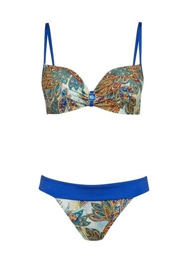 Marc & Andre Bikini Üst Mavi